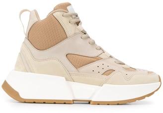 MM6 MAISON MARGIELA Panelled Hi-Top Sneakers
