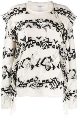 P.A.R.O.S.H. Patterned Long-Sleeve Jumper