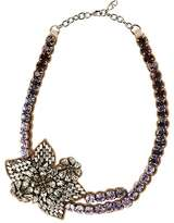 Valentino WOMEN'S CRYSTAL FLOWER PENDANT NECKLACE