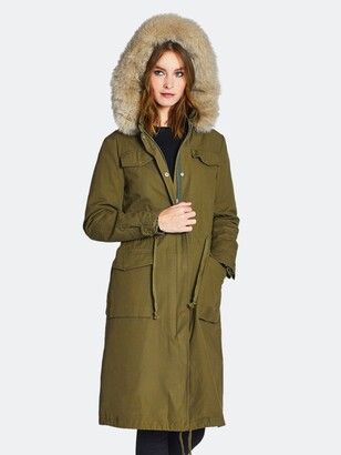 Dawn Levy Cleo Triple-Washed Cotton Cargo Anorak