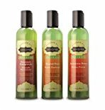 Kama Sutra Massage Oil Naturals, Set of 3