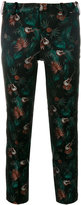 Zadig & Voltaire jungle and guitar print cropped trousers