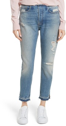 Frame Le Original Raw Edge High Waist Jeans