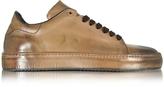 Cesare Paciotti Dune Aged Leather Men's Sneaker