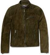 Ralph Lauren Purple Label Randall Suede Biker Jacket