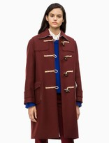 Structured Wool Duffle Coat