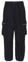 Undercover Cotton-blend wide-leg trousers