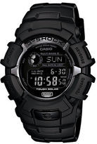G-Shock Mens Blackout Atomic Solar Watch