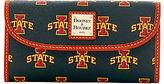 Dooney & Bourke NCAA Iowa State Continental Clutch