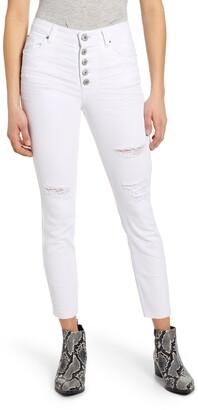 STS Blue Ellie Distressed Crop Skinny Jeans