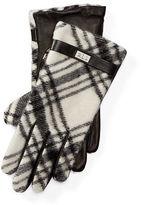 Ralph Lauren Plaid Wool-Blend Gloves