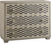 One Kings Lane Keeley Checkered Dresser, Charcoal
