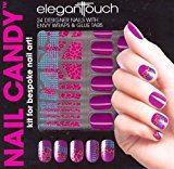 Elegant Touch Nail Candy Kit Purple Nails by