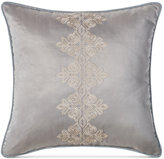 """Waterford Darcy Embroidered 18"""" Square Decorative Pillow"""