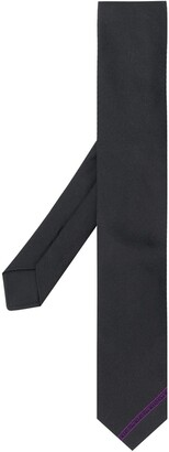 Givenchy Embroidered Logo Band Necktie