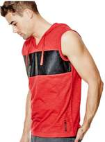 G by Guess Men's Latham Sleeveless Hoodie