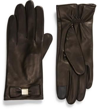 Kate Spade Bow Touchscreen Gloves