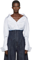 Jacquemus Blue la Chemise Beauduc Shirt