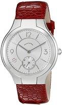 Philip Stein Teslar Women's 41-FSW-OBLOR Round Analog Display Japanese Quartz Red Watch