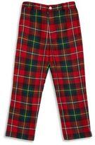 Oscar de la Renta Boy's Plaid Wool Pants