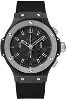 Hublot Men's 44mm Rubber Band Ceramic Case Anti Reflective Sapphire Automatic Watch 301.CK.1140.RX