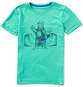 Lucky Brand Big Boys 8-20 Skater Bear Short-Sleeve Graphic Tee