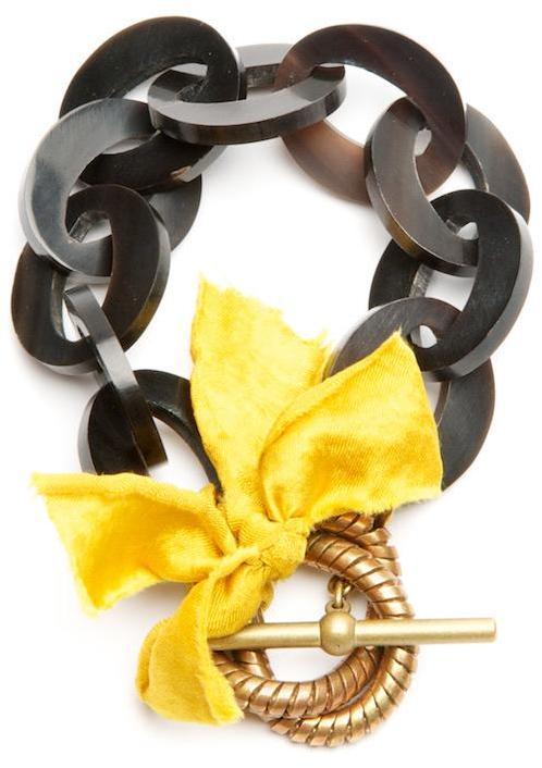 Lulu Frost Bow Bracelet
