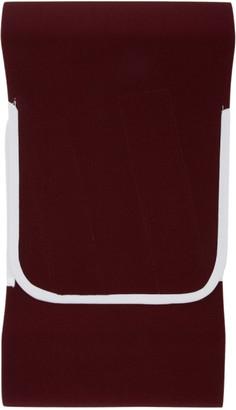 Daniel W. Fletcher SSENSE Exclusive Burgundy Elastic Hip Belt