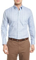 Peter Millar Men's Regular Fit Highland Glen Plaid Sport Shirt