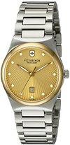 Victorinox Women's 'Victoria' Swiss Quartz Stainless Steel Casual Watch (Model: 241637)