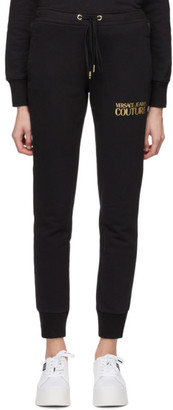 Versace Black Logo Lounge Pants