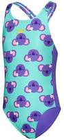 Speedo Toddler Girls Koala Medalist One Piece