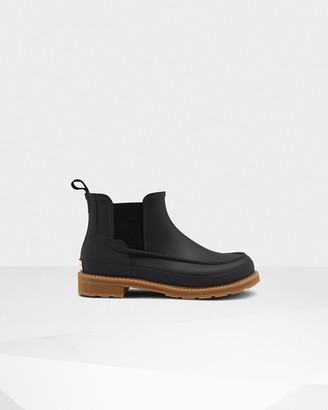 Hunter Men's Original Moc Toe Chelsea Boots