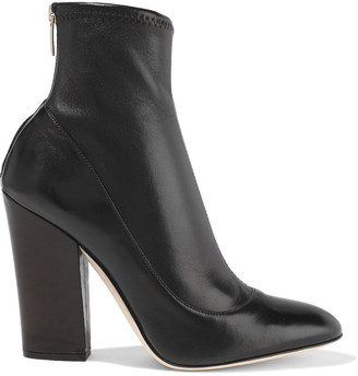 Sergio Rossi Virginia Stretch-leather Sock Boots