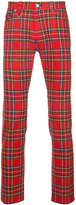 GUILD PRIME plaid check trousers