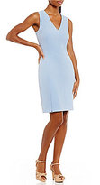 Antonio Melani Jolie Stretch Pique Sheath Dress
