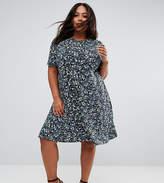 Asos Tea Dress In Floral Print