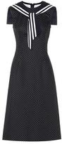 Dolce & Gabbana Cotton and wool dress