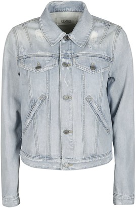 Givenchy Light Blue Cotton Denim Jacket