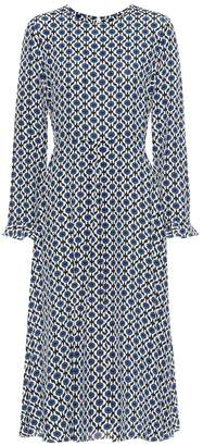 Max Mara S Arte printed silk midi dress
