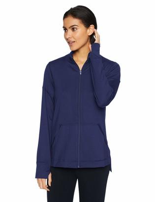 N Natori Women's Jersey Zip-Up Jacket