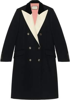 Gucci Double-Breasted Tuxedo Coat