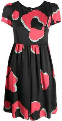 Emporio Armani Graphic Leopard Print Dress