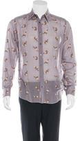 Dolce & Gabbana Floral Embroidered Shirt