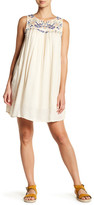 Rip Curl Daydream Embroidered Woven Shift Dress