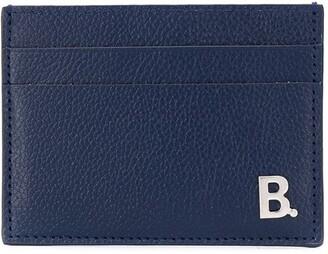 Balenciaga B logo plaque cardholder