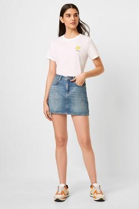 French Connenction Reem Denim Mini Skirt
