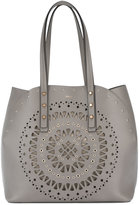 Furla cut-out pattern tote bag