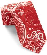 Ben Sherman Printed Paisley Tie