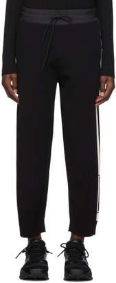 Y-3 Y 3 Black Tech Knit Wide Lounge Pants